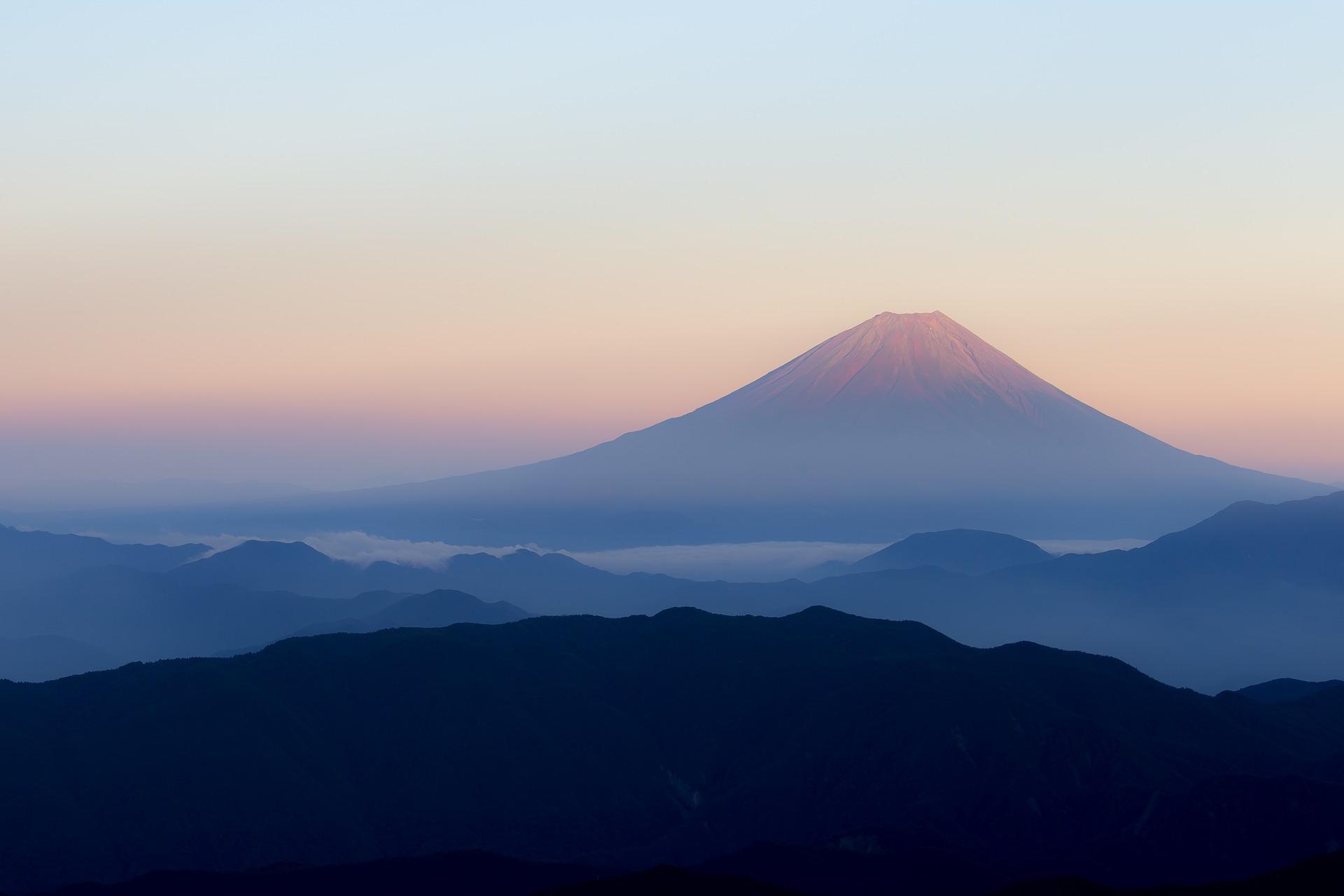 日本を代表する富士山の写真