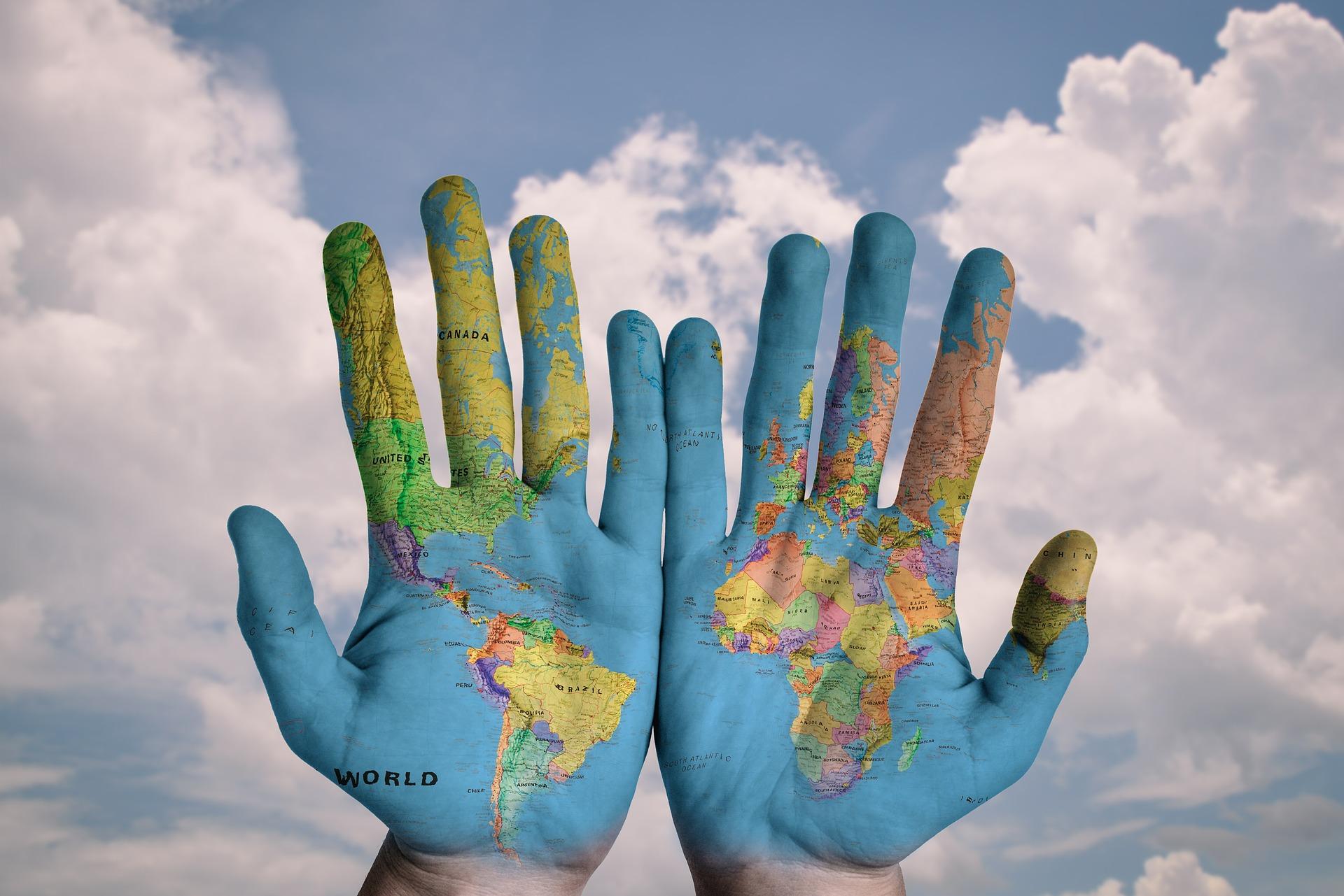 グローバルな国際目標を表す図