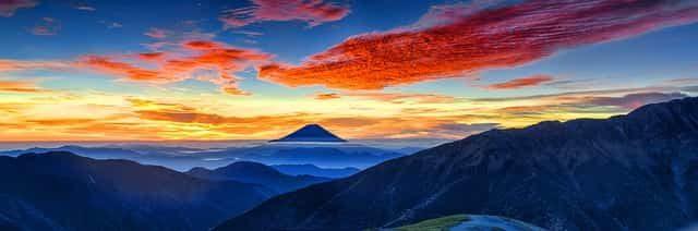 日本を代表する「富士山」の画像