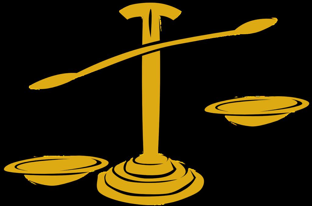 不平等を表す天秤
