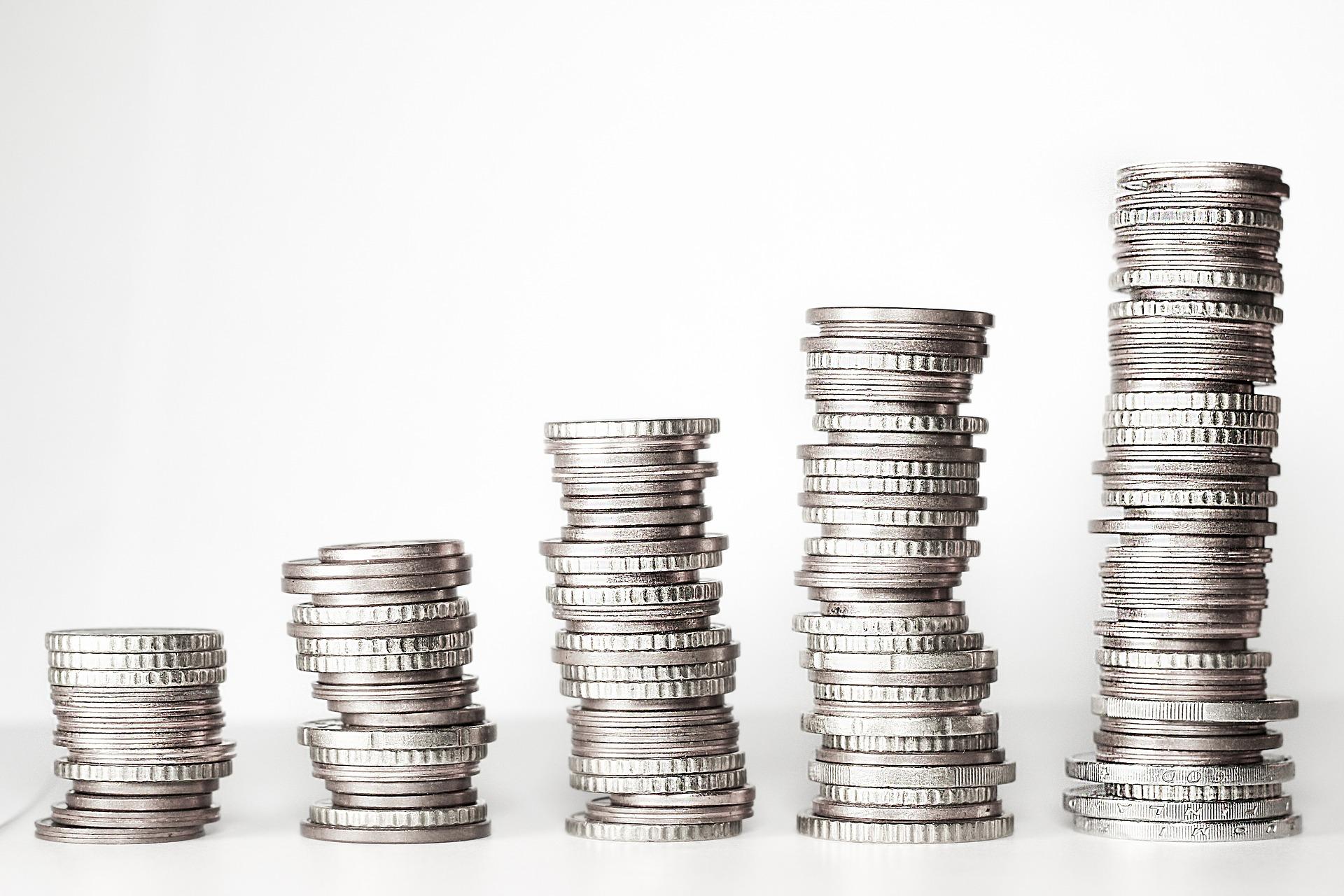 仮想通貨の利益を表す図