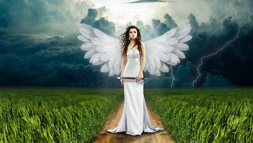 ザオリクをかける天使