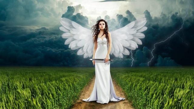 研究のアイデアを渡しに来た天使