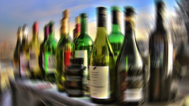 飲みすぎて視界が回りすぎたところ