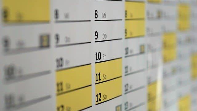 研究室配属決めまでの日数を確認しているところ