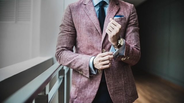 OB訪問の服装を考えている最中