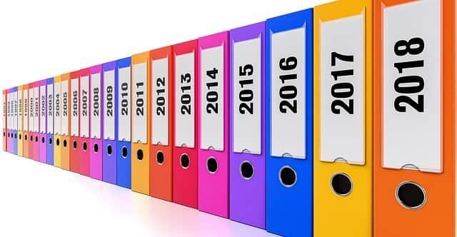 就活に関する情報が年次ごとにまとまっている写真